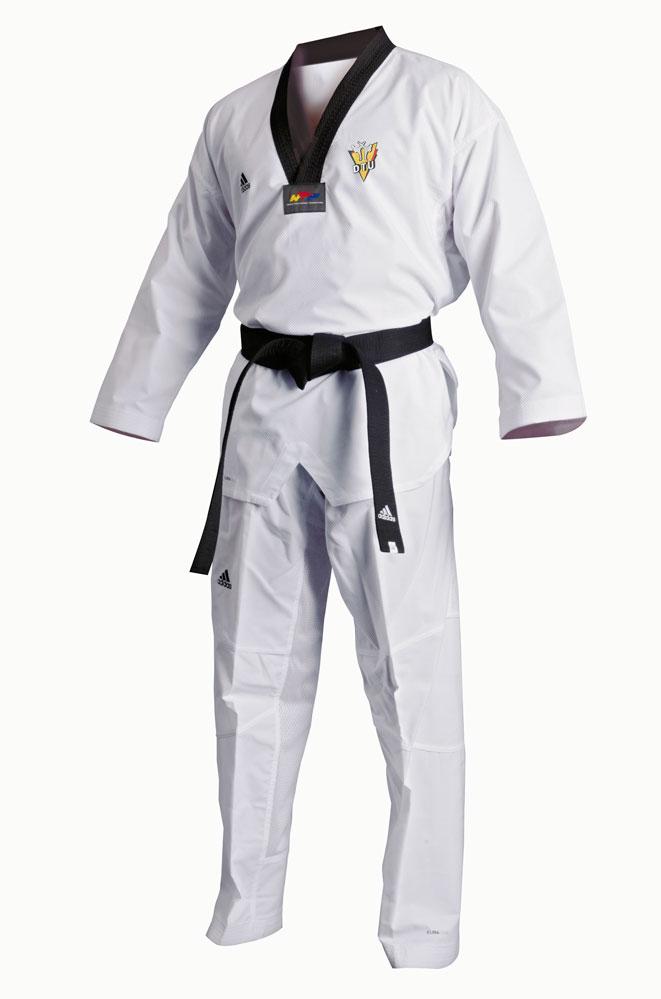 adidas taekwondoanzug adi flex aditfl01 mit dtu stickerei. Black Bedroom Furniture Sets. Home Design Ideas
