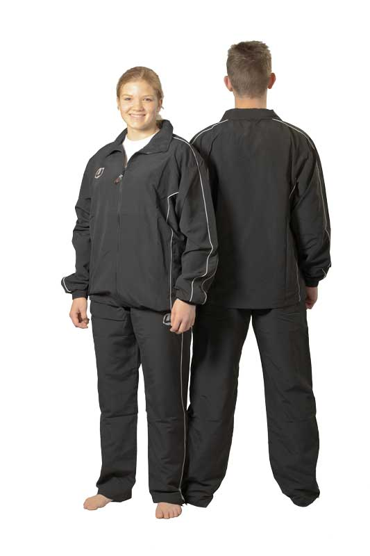 Track suit 'Diadema' black/opal grey