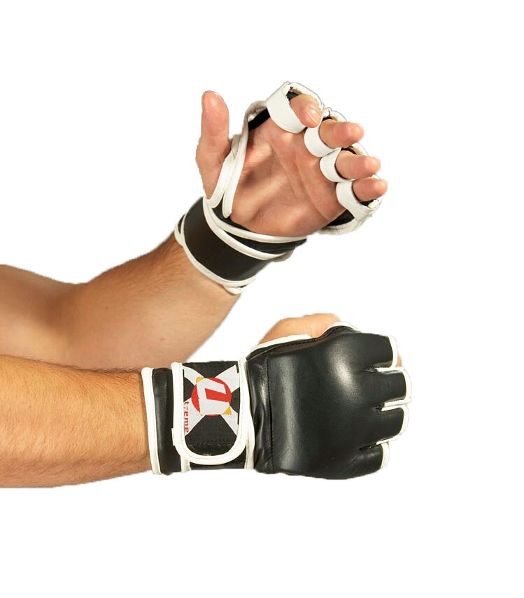 MMA gloves 'open hand'
