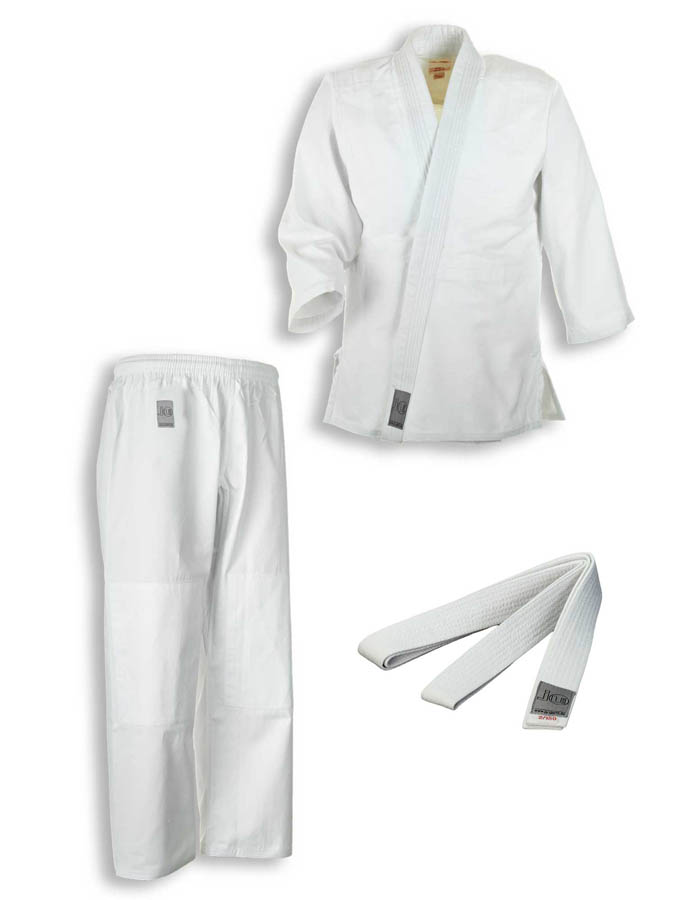 Judo suit 'to start extra' white