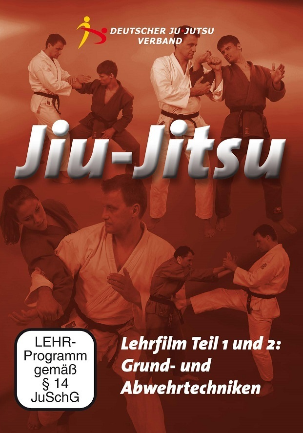 DVD-Paket: Jiu-Jitsu Lehrfilm - Teil 1+2 auf DVD