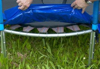 trampolin 137 cm spartan inkl fangnetz ab 3 jahre ebay. Black Bedroom Furniture Sets. Home Design Ideas