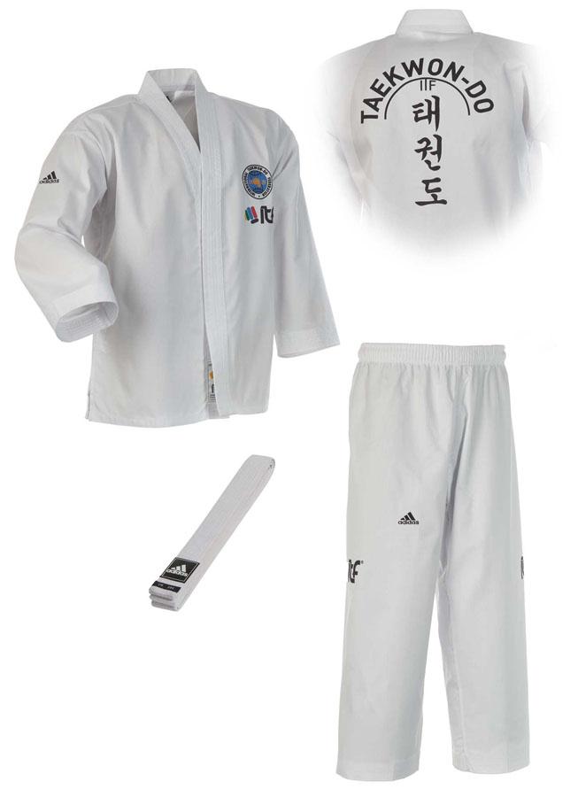 adidas itf student dobok adititf01 taekwondo anzug. Black Bedroom Furniture Sets. Home Design Ideas