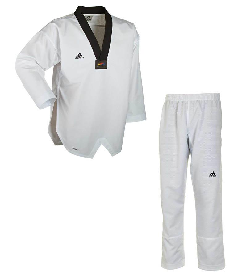 adidas taekwondoanzug fighter taekwondo anzug neu 180 ohne streifen ebay. Black Bedroom Furniture Sets. Home Design Ideas