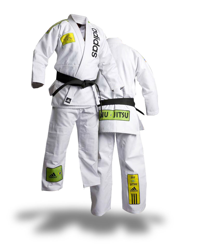adidas BJJ Uniform JJ800 wei�