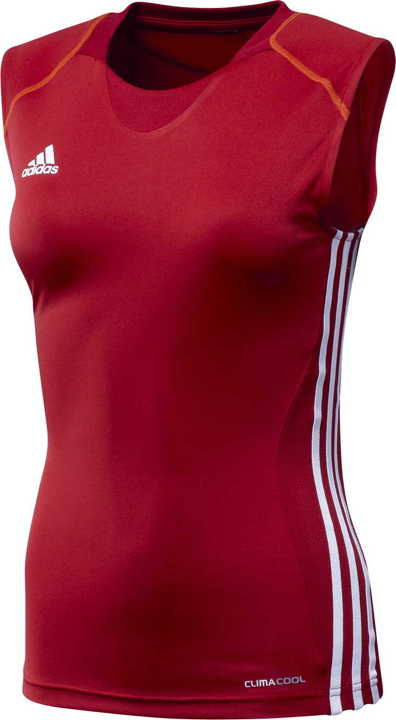 T12 Team ClimaCool Sleeveless Tee Damen rot X13864