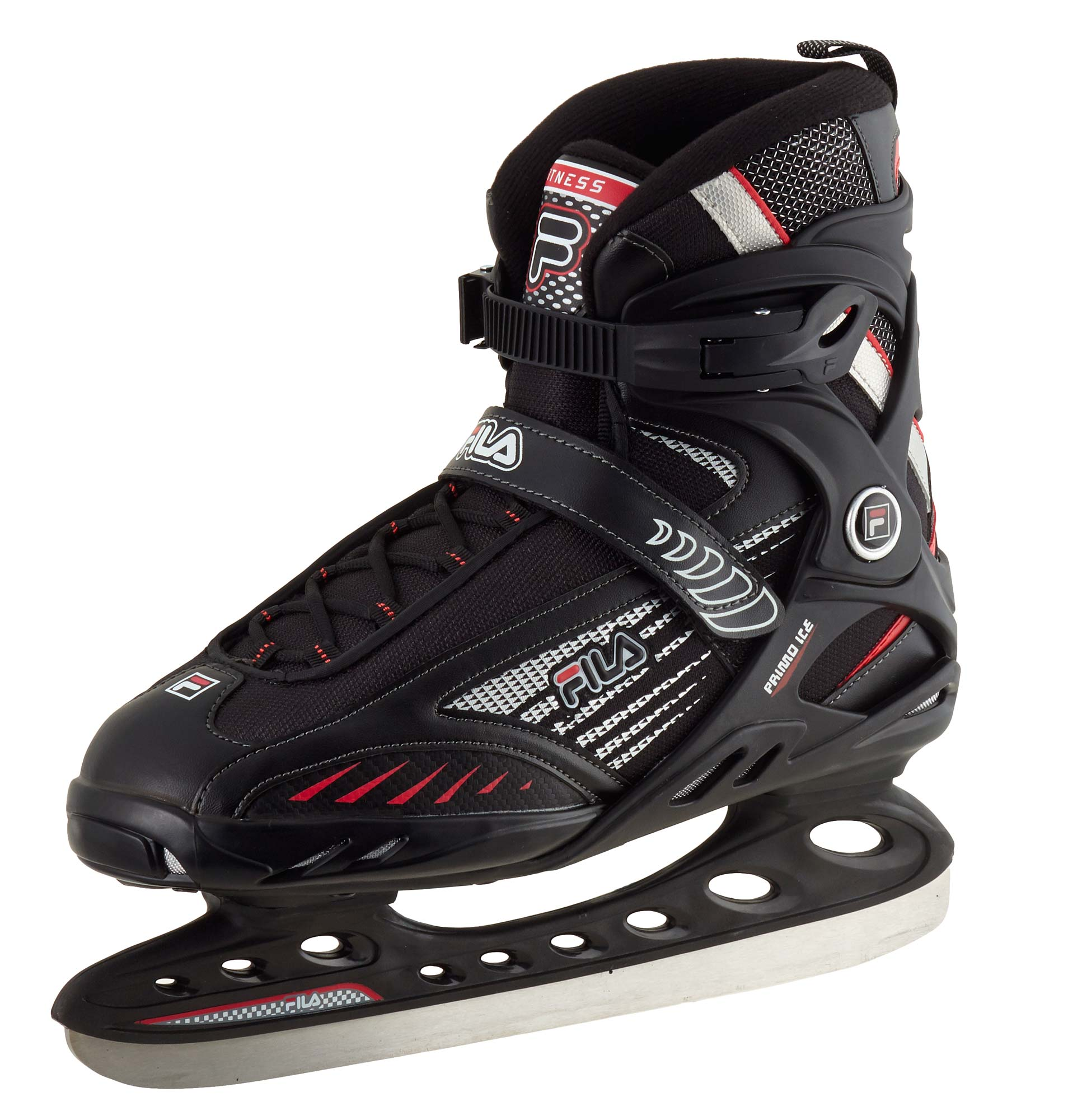 FILA Schlittschuhe 'Primo ICE '; black/red 010414110