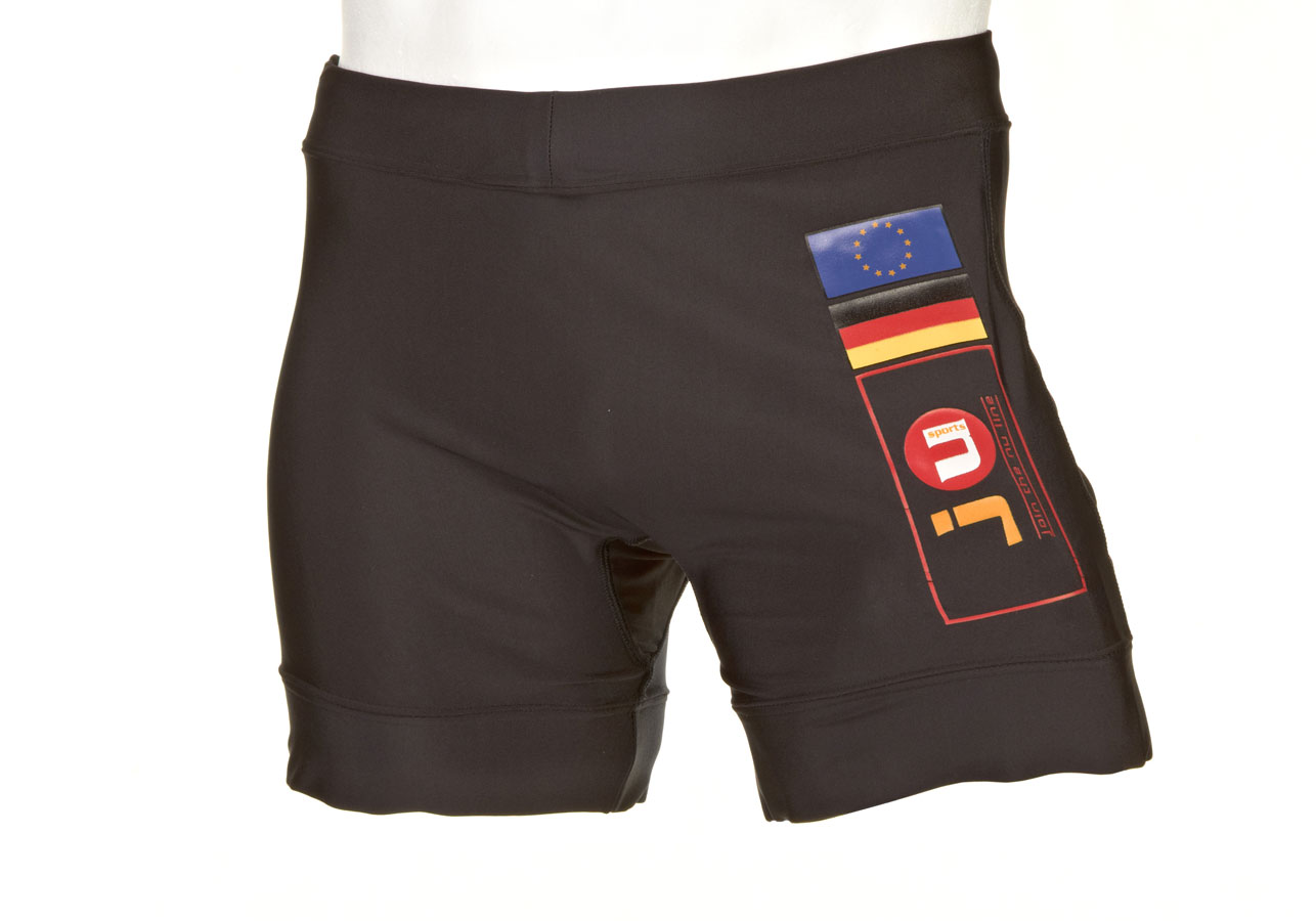 Fight Short 2 Fahnen EU-GER