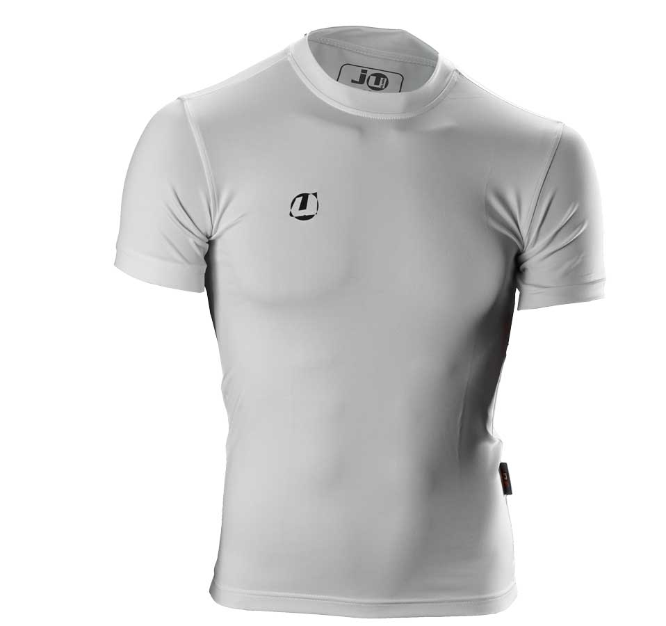 Compression Shirt kurzarm wei�