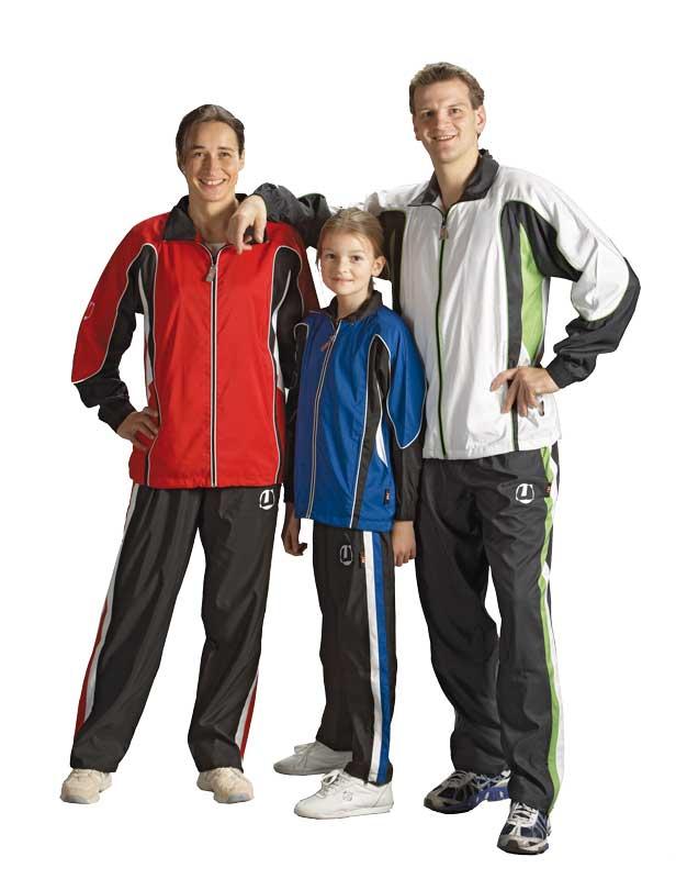 Trainingsanzug Ju-Sports Rio rot/schwarz