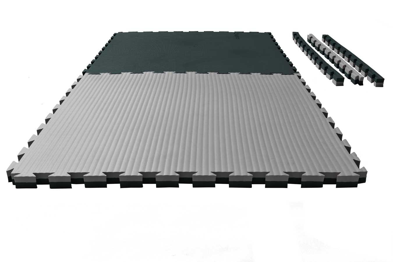 puzzlematte 39 tatami 39 4 cm schwarz grau wendematte kaufen bei ju sports. Black Bedroom Furniture Sets. Home Design Ideas