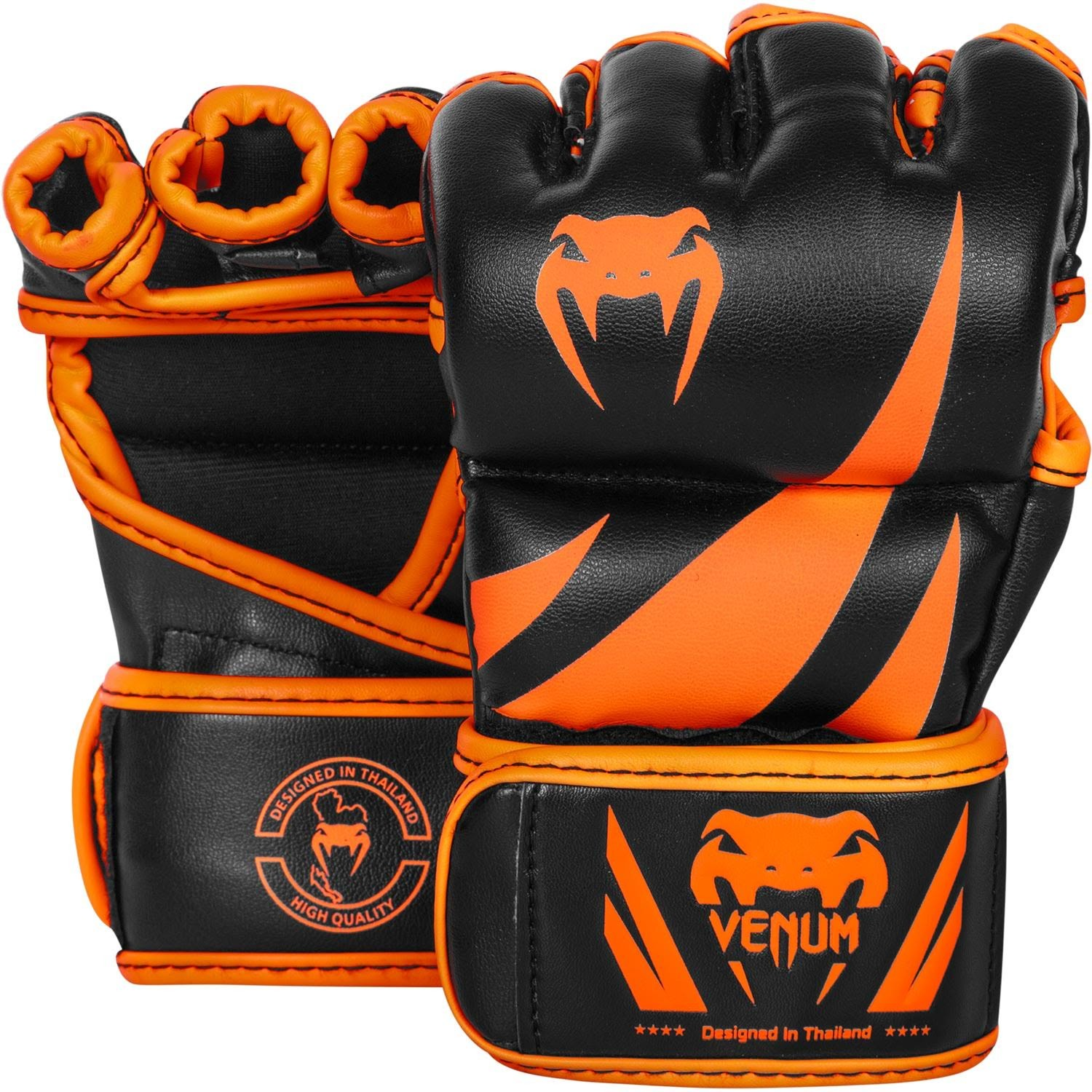 Venum MMA Gloves 'Challenger',  orange/black, 2051