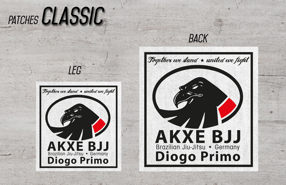 AKXE Patches Set