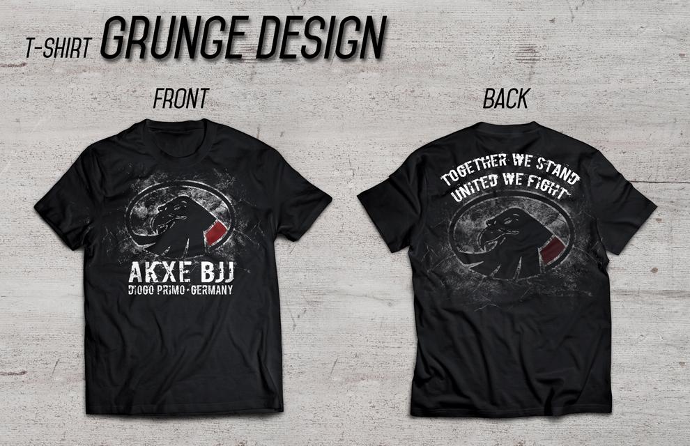 AKXE T-Shirt Grunge