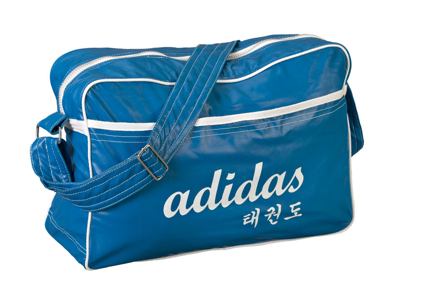 adiACC120 PU Sports Bag US Style Blue PU