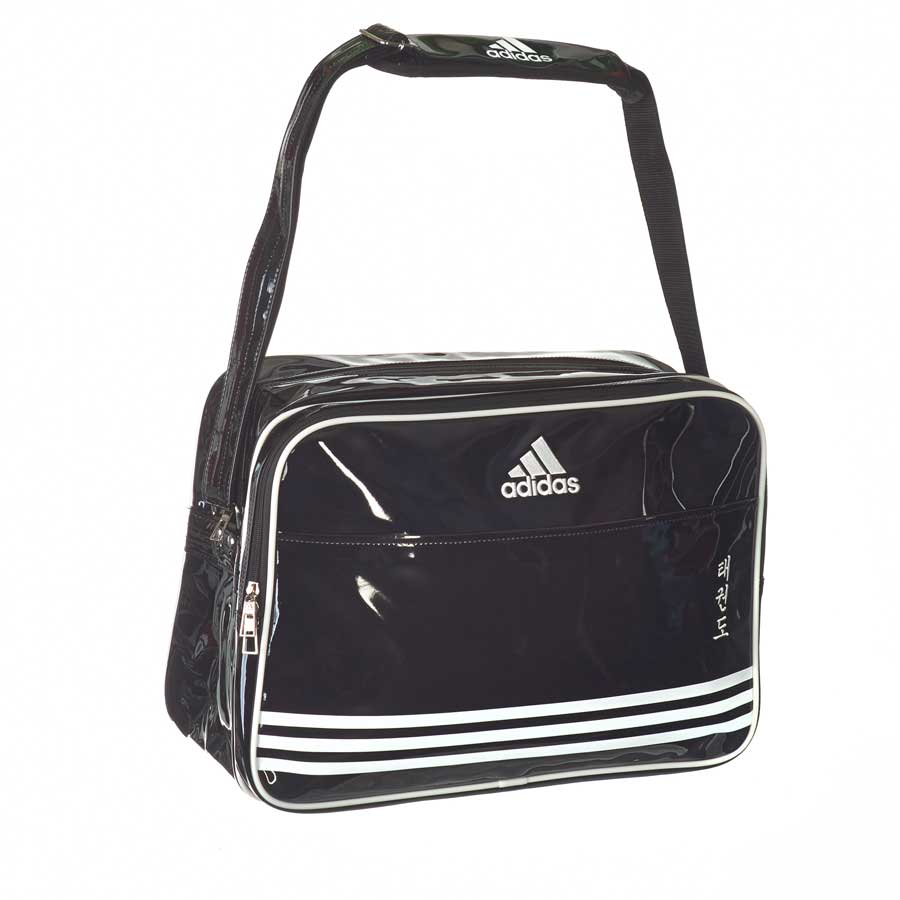 adiACC100CS2 Shiny Sports Bag PU schwarz/wei� TKD