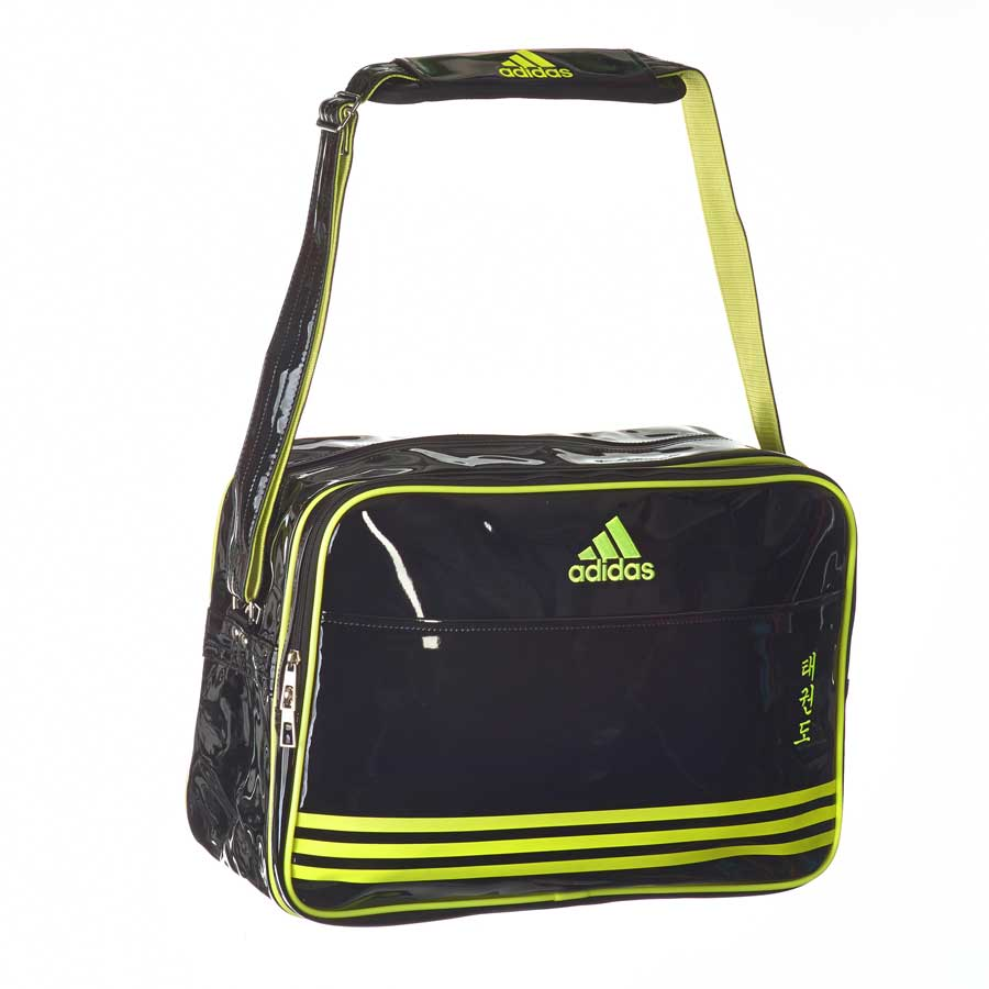 adiACC100CS2 Shiny Sports Bag PU schwarz/gelb TKD