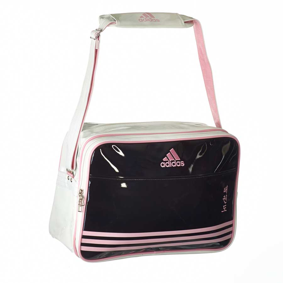 adiACC100CS2 Shiny Sports Bag PU schwarz/pink/wei� TKD