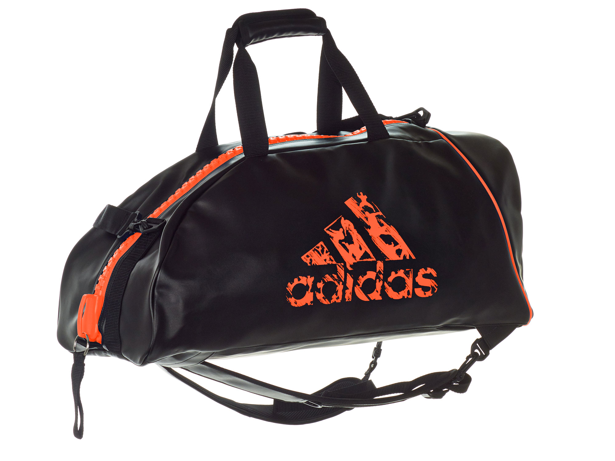 adidas rucksack tasche adiacc051 l schwarz orange kaufen. Black Bedroom Furniture Sets. Home Design Ideas