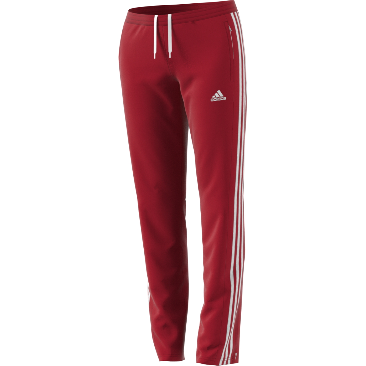 adidas t16 team sweat hose damen power rot wei aj5392. Black Bedroom Furniture Sets. Home Design Ideas
