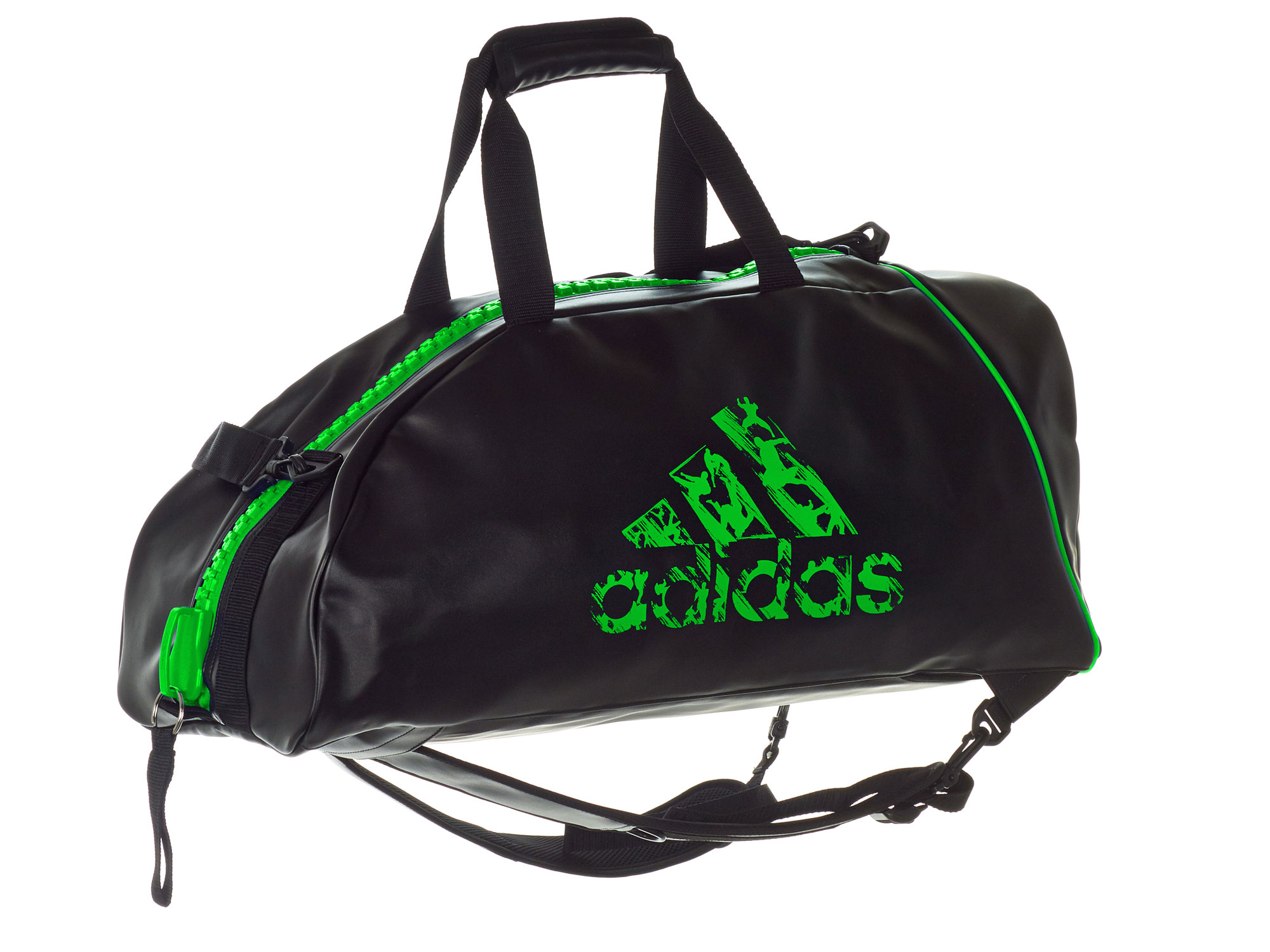 adidas rucksack tasche adiacc051 l schwarz solar green. Black Bedroom Furniture Sets. Home Design Ideas