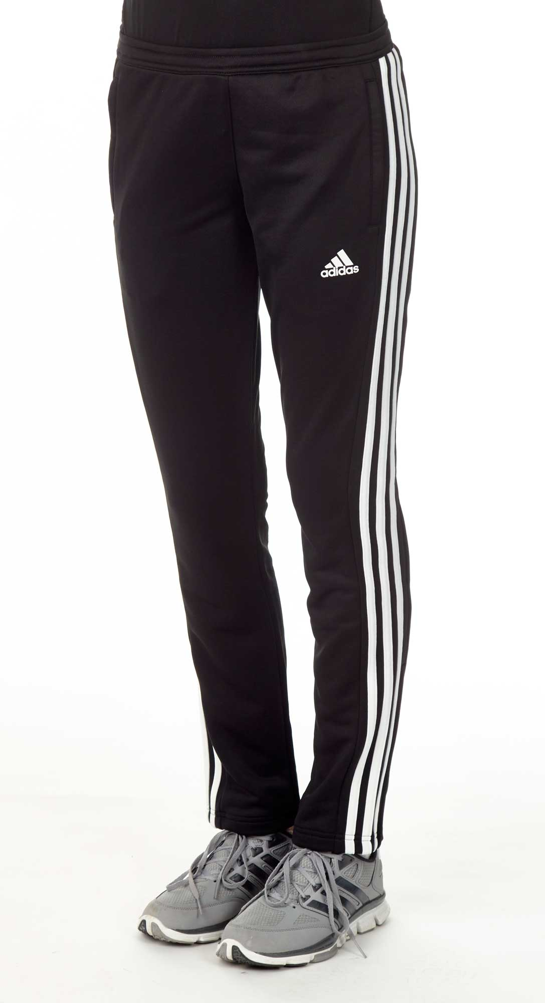 adidas t16 team sweat hose damen schwarz wei aj5390 g nstig bei sport und spiel 99. Black Bedroom Furniture Sets. Home Design Ideas