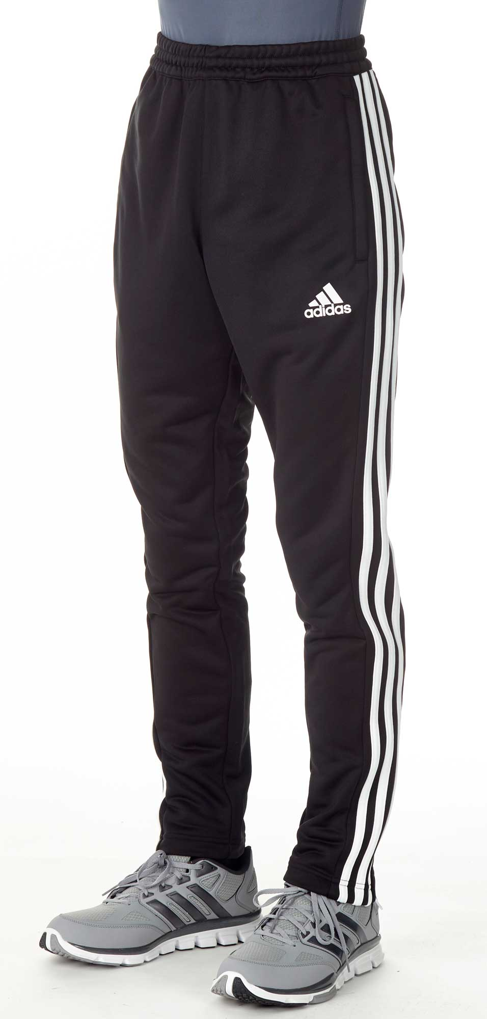 adidas t16 team sweat hose m nner schwarz wei aj5395. Black Bedroom Furniture Sets. Home Design Ideas