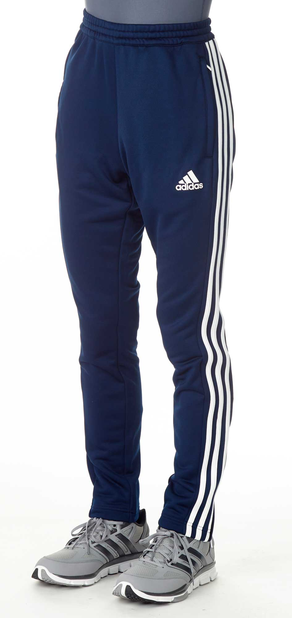 adidas t16 team sweat hose m nner navy blau wei aj5396. Black Bedroom Furniture Sets. Home Design Ideas